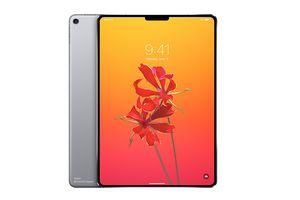 iPad Pro 2018 sẽ có màn hình viền cong như iPhone X