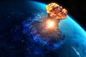 Thiên thạch khổng lồ rơi xuống gần căn cứ quân sự Mỹ