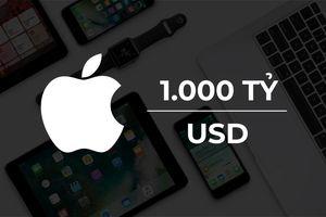 1.000 tỷ USD vốn hóa của Apple lớn cỡ nào?