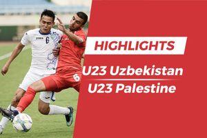 Highlights thất bại của Olympic Uzbekistan trước Olympic Palestine