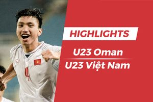 Highlights Olympic Oman 0-1 Olympic Việt Nam