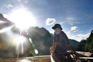 Nghề vớt gỗ trên thượng nguồn sông Đà