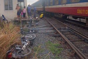 Vượt đường sắt, một người đàn ông bị tàu hỏa tông tử vong