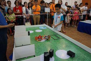 150 học sinh tham dự cuộc thi robot cấp quốc gia IYRC Việt Nam 2018