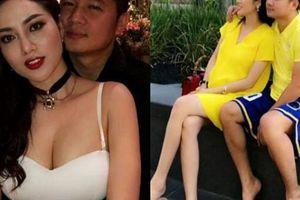 Lâm Vũ 'cưng như trứng' vợ Việt Kiều đang mang thai 8 tháng