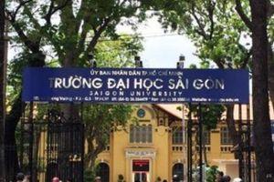 Điểm chuẩn 2018: Đại học Sài Gòn