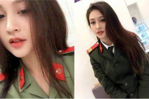 Lộ danh tính cô gái xinh đẹp mặc quân phục khiến CĐM xôn xao
