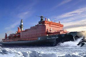 Hết Nga, đến tàu phá băng Trung Quốc cũng vượt mặt Mỹ