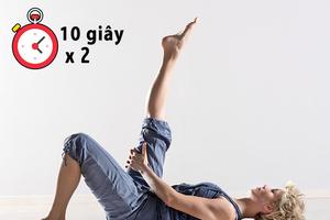 7 bài tập giảm ngay đau lưng trong 10 phút