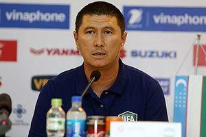 HLV Uzbekistan thừa nhận thua kém U23 Việt Nam