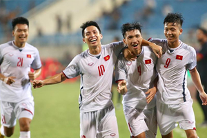 Highlights Olympic Việt Nam 1- 0 Olympic Oman: Văn Hậu ghi bàn duy nhất đem về chiến thắng thứ 2