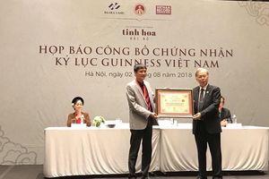 Vở diễn 'Tinh hoa Bắc Bộ' lập 'cú đúp' kỷ lục Guinness Việt Nam