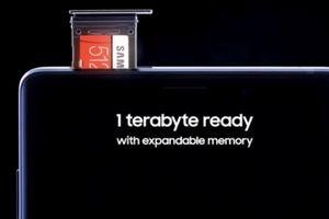 Galaxy Note9 có bộ nhớ lớn gấp 4 lần iPhone X