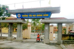 Thanh tra kết luận vụ Trường tiểu học Quảng Hưng bị tố lạm thu
