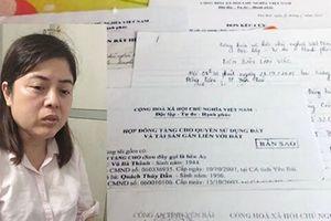 Nữ quái làm giả giấy tờ, bị bắt giữ khi đang lẩn trốn cùng chồng