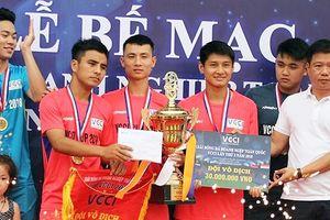 Bế mạc Giải bóng đá doanh nghiệp toàn quốc 'Cúp VCCI năm 2018'