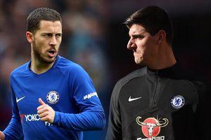 HLV Sarri tự tin Hazard và Courtois sẽ ở lại Chelsea