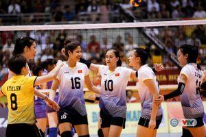 Đội tuyển bóng chuyền nữ Việt Nam thắng trận thứ ba liên tiếp