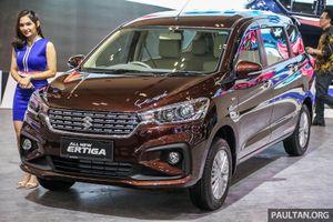 Hình ảnh thực tế Suzuki Ertiga thế hệ mới - Đối thủ Toyota Avanza