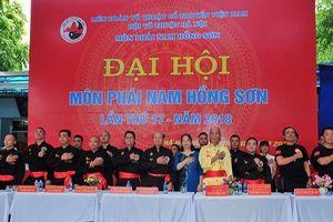 'Mãn nhãn' với màn biểu diễn của môn phái Nam Hồng Sơn