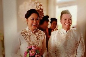 Chồng Việt kiều nhảy tặng con gái NSND Hồng Vân trong đám cưới