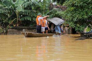 Thực hư thông tin hàng trăm người mắc bệnh về da tại vùng lụt Chương Mỹ