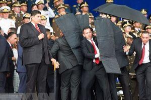 Toàn cảnh vụ Tổng thống Venezuela Maduro bị mưu sát bằng UAV