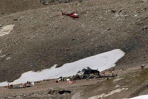 Rơi máy bay ở Thụy Sỹ, 20 người thiệt mạng