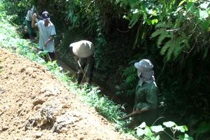 Trấn Yên khẩn trương khắc phục các công trình thủy lợi sau mưa lũ