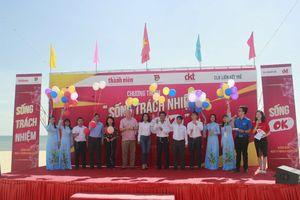 Tuổi trẻ Quảng Bình hào hứng tham gia chương trình 'Sống trách nhiệm - Sống Ok'