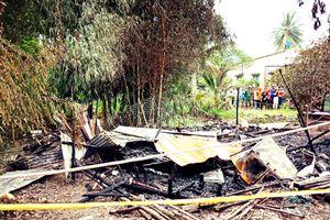 Cà Mau: Người đàn ông chém vợ, đốt nhà khiến 2 người tử vong