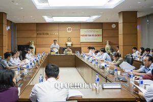 Ủy ban Tài chính Ngân sách họp phiên toàn thể lần thứ 27