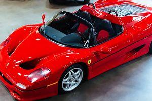 Ferrari F50 phiên bản sản xuất đầu tiên được rao bán