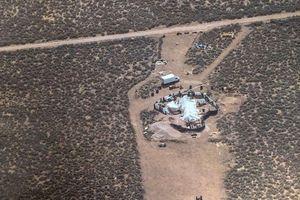 Mỹ giải cứu 11 trẻ em bị nhốt trong ngôi nhà giữa hoang mạc