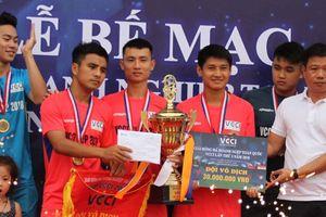 Bế mạc Giải bóng đá doanh nghiệp toàn quốc 'Cup VCCI' năm 2018