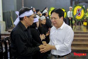 Thứ trưởng Vương Duy Biên mong nghệ sĩ Bùi Cường được thanh thản nơi xa thẳm
