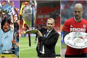 10 năm, Pep Guardiola giành được 24 danh hiệu trên băng ghế huấn luyện