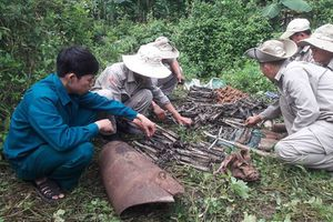 Gần 500 đầu đạn lăn lóc ở khu vực biên giới Quảng Trị