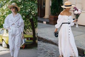 'Nghiện' mặc đồ trắng nhất định phải dắt túi 4 bí quyết này