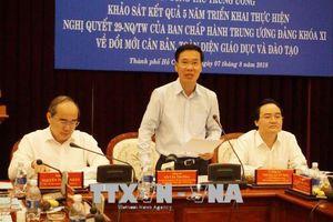TP Hồ Chí Minh phấn đấu trở thành trung tâm giáo dục - đào tạo chất lượng cao của khu vực