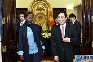 Việt Nam - Rwanda: Thống nhất biện pháp nâng cao kim ngạch thương mại