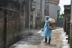 Hà Nội: Tổng vệ sinh môi trường, phòng chống dịch bệnh tại vùng ngập úng