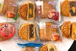 'Bánh trung thu Hong Kong' giá dưới 5.000 đồng/cái bán đầy chợ mạng