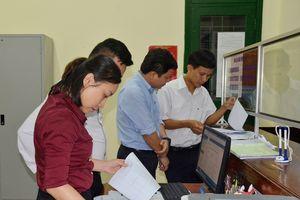 Làm rõ tình trạng để chậm hồ sơ nghiệp vụ tại BHXH Nam Đàn
