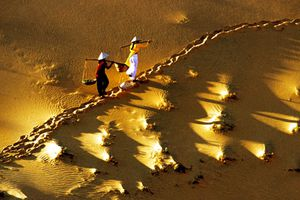 Bí ẩn cát hồng Mũi Né