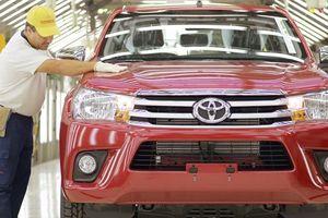 Toyota dự kiến xuất xưởng lượng ôtô kỷ lục ở Argentina trong năm 2018