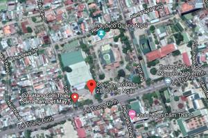 Tìm địa điểm di dời Cty May 28 Quảng Ngãi, 'đất vàng' 121 Lê Trung Đình sẽ đổi chủ?