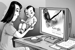Chữa bệnh cho con qua mạng, mẹo vặt hay nguy hiểm đe dọa tính mạng trẻ?