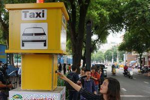 TP Hồ Chí Minh thí điểm 5 điểm đón taxi cố định