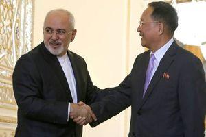 Bộ trưởng Ngoại giao Triều Tiên thăm Iran đúng ngày Mỹ tái áp đặt lệnh trừng phạt